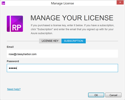 Axure RP 8 License Key + Crack Full Version