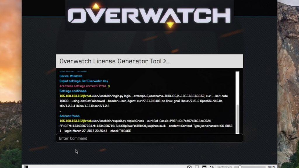 Overwatch License Key Generator 2019 + Crack Free