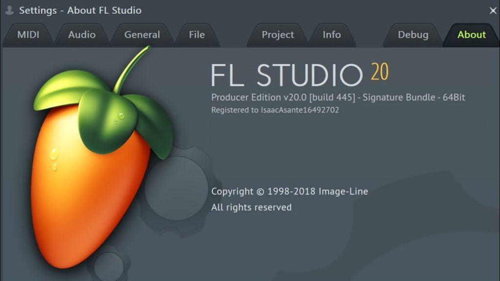 FL Studio 20.7.0 Crack 2019 Reg Key Full Torrent