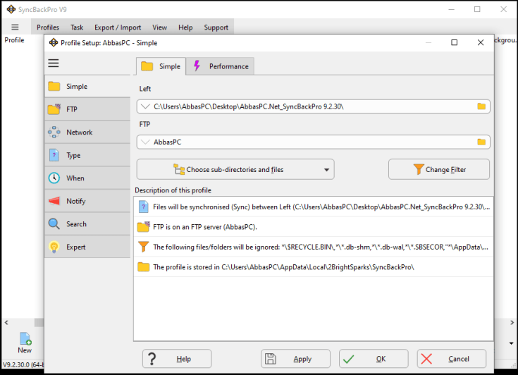 SyncBackPro 9.3.17.0 Crack With Premium Key Full Version Free Download